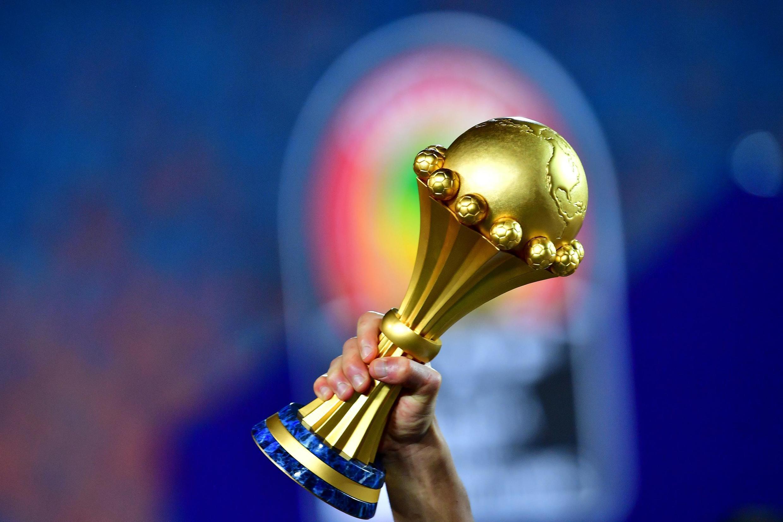 Le trophée remis aux vainqueurs de la Coupe d'Afrique des nations de football.