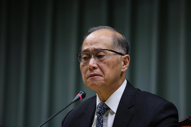 Ngoại trưởng Đài Loan David Lee thông báo cắt đứt bang giao với Sao Tome trong buổi họp báo ngày 21/12/2016.