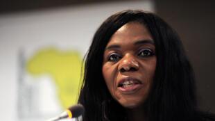 La médiatrice de la République,Thuli Madonsela.