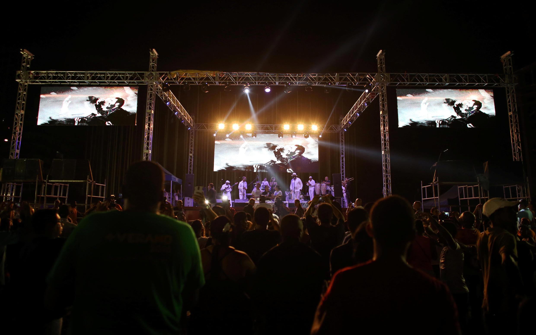 Concert en hommage à Fidel Castro vendredi 12 août au soir à La Havane, pour ses 90 ans.