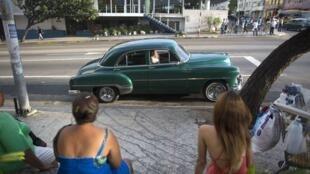 Une rue de La Havane, le 21 décembre 2014.