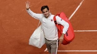 Roger Federer was greeted with cheers at the 2019 French Open despite a three year absence.