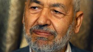 Rached Ghannouchi, chef du parti Ennahda.