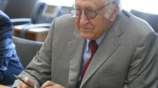 Lakhdar Brahimi, représentant de l'ONU et de la Ligue arabe pour la Syrie.