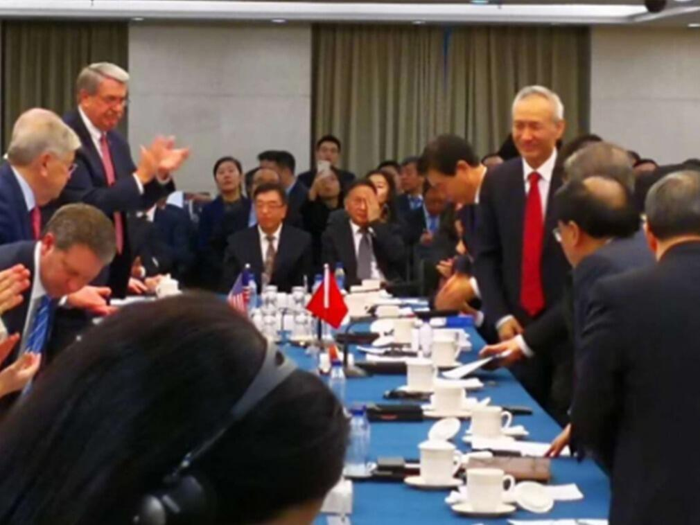 中美這次談判意義重大級別只是副部級,但中國國務院副總理劉鶴意外出現,讓美方代表驚奇。