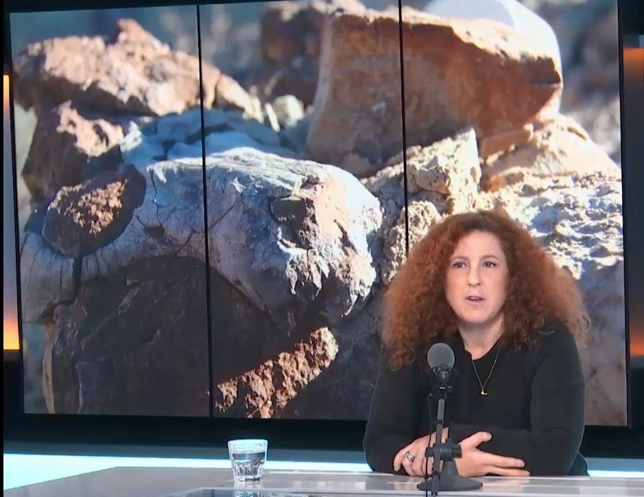 Julia Desojo en Escala en París