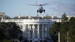 Le président Donald Trump va être soigné à l'hôpital Walter Reed, dans la banlieue de Washington.