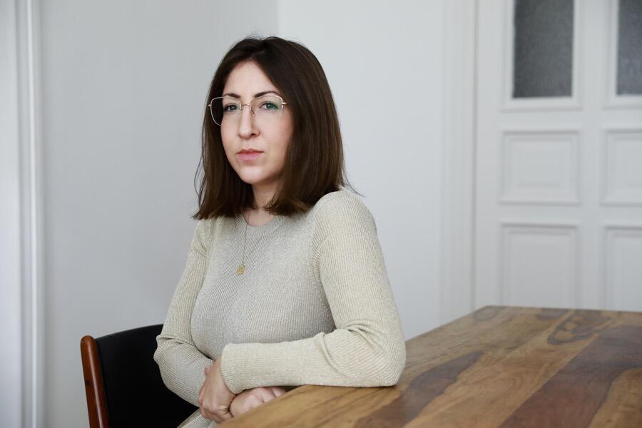 Deborah Feldman, Alexa Vachon, Portrait, Unorthodox, Author, Interior, Inside, Headshot,