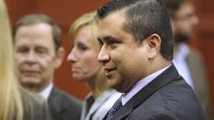 Georges Zimmerman est resté impassible à l'annonce du verdict avec seulement un léger sourire. Le 13 juillet à Sanford.