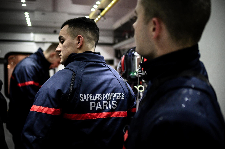 Парижские пожарные, февраль 2019 г.