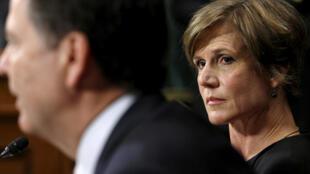 Sally Yates (photo), une fonctionnaire de l'ancienne administration Obama qui assurait l'intérim du ministre de la Justice a refusé de soutenir le décret anti-muslman de Donald Trump.