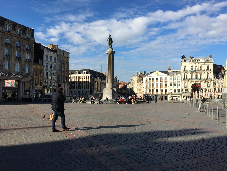 法國第四代城市裡爾的市中心。