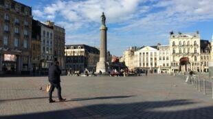 Lille, la quatrième agglomération de France, est reconfinée comme le reste du pays depuis le 30 octobre.