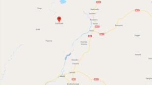 Le village de Dialloubé se trouve au nord de Mopti, dans le centre du pays.