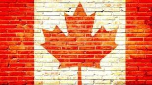 Le drapeau du Canada.