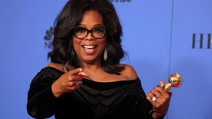 A apresentadora e atriz Oprah Winfrey foi a grande homenageada da noite.