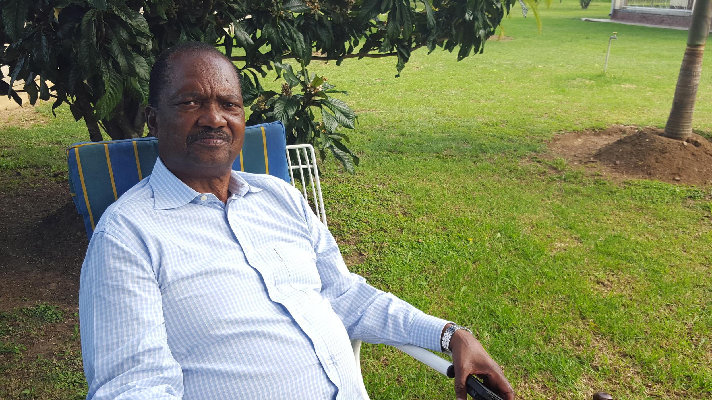 Rugare Gumbo, ex combattant pour la libération et ancien ministre,