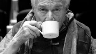 El escritor, artista y crítico de arte John Berger.