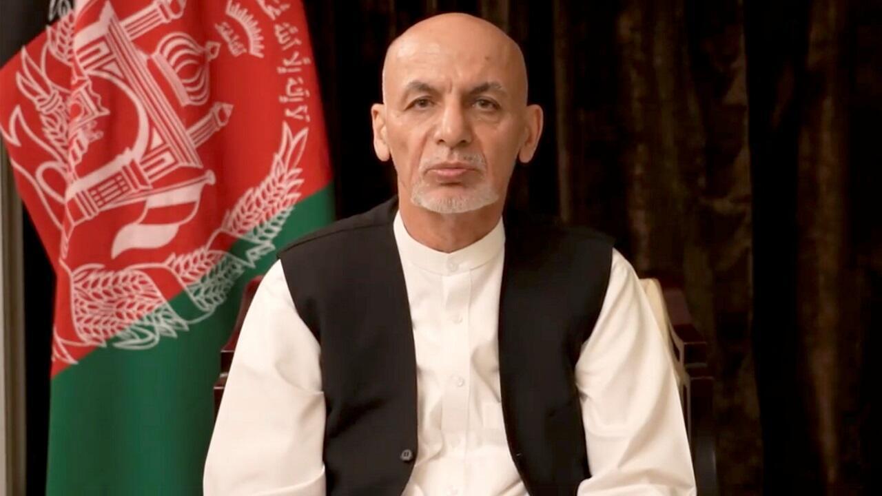 PHOTO Ashraf Ghani - 18 août 2021 aux Émirats arabes unis