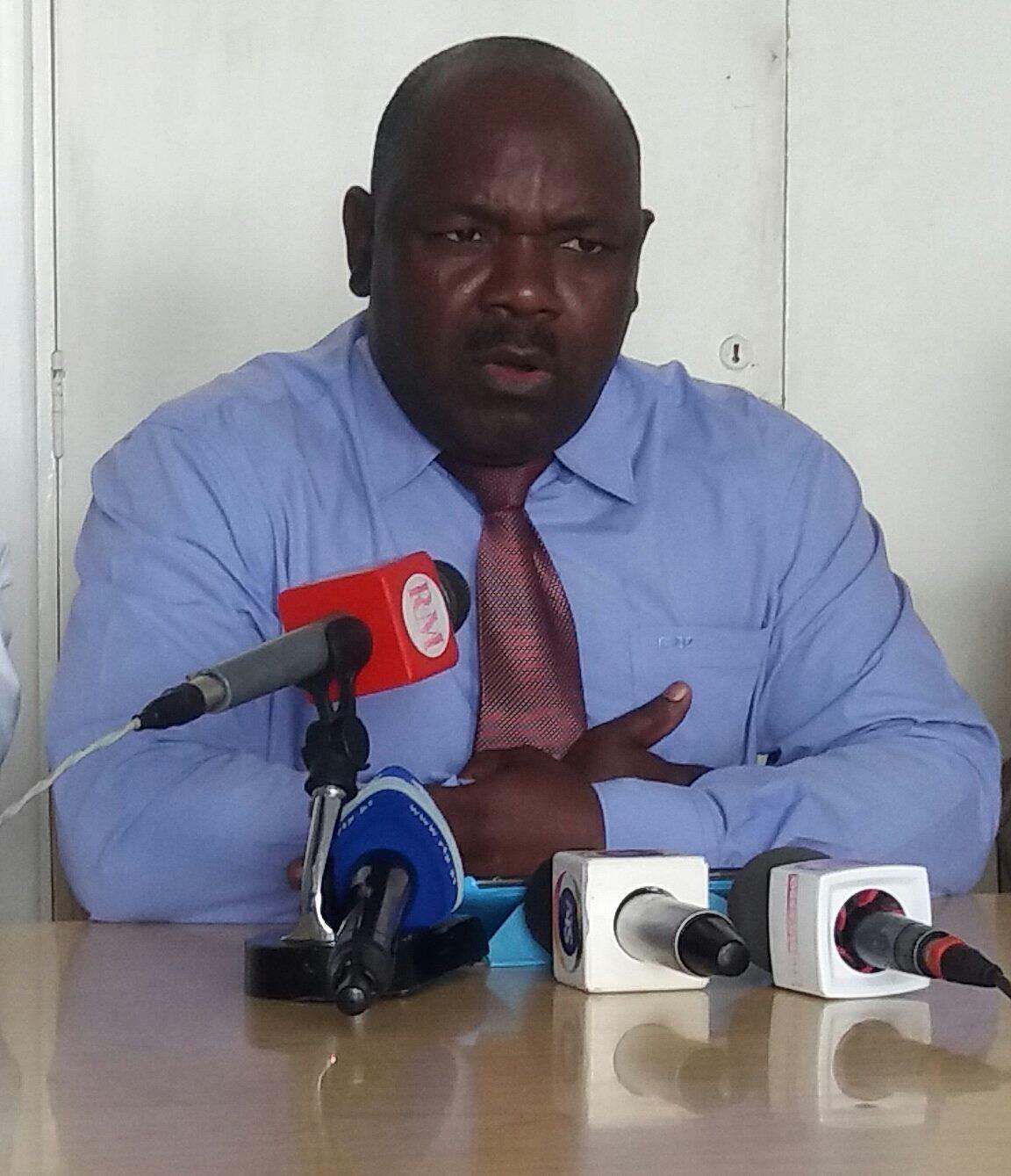 João Massango, do partido Ecologista em Moçambique