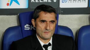 Ernesto Valverde, le 4 janvier 2020.