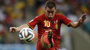 A karon farko kenan da  Eden Hazard ya ci wa Belgium a gasar Euro 2016 da ake yi a Faransa