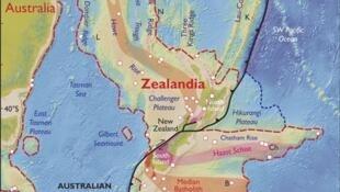 Zelândia o continente submerso