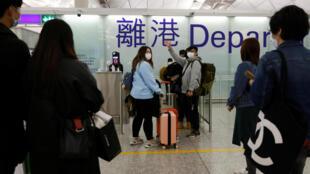 香港国际机场资料图片