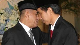 Tổng thống Indonesia Joko Widodo bổ nhiệm tướng Ryamizard Ryacudu làm Bộ trưởng Quốc phòng- DR