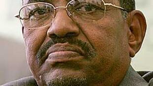 Rais wa Sudani Omar Hassan El Bashir