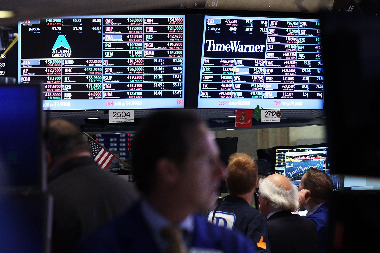 Traders americanos na Bolsa de Valores de Nova Iorque, em foto de 6 de agosto de 2015.