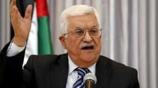Shugaban Yankin Falasdinu Mahmoud Abbas.