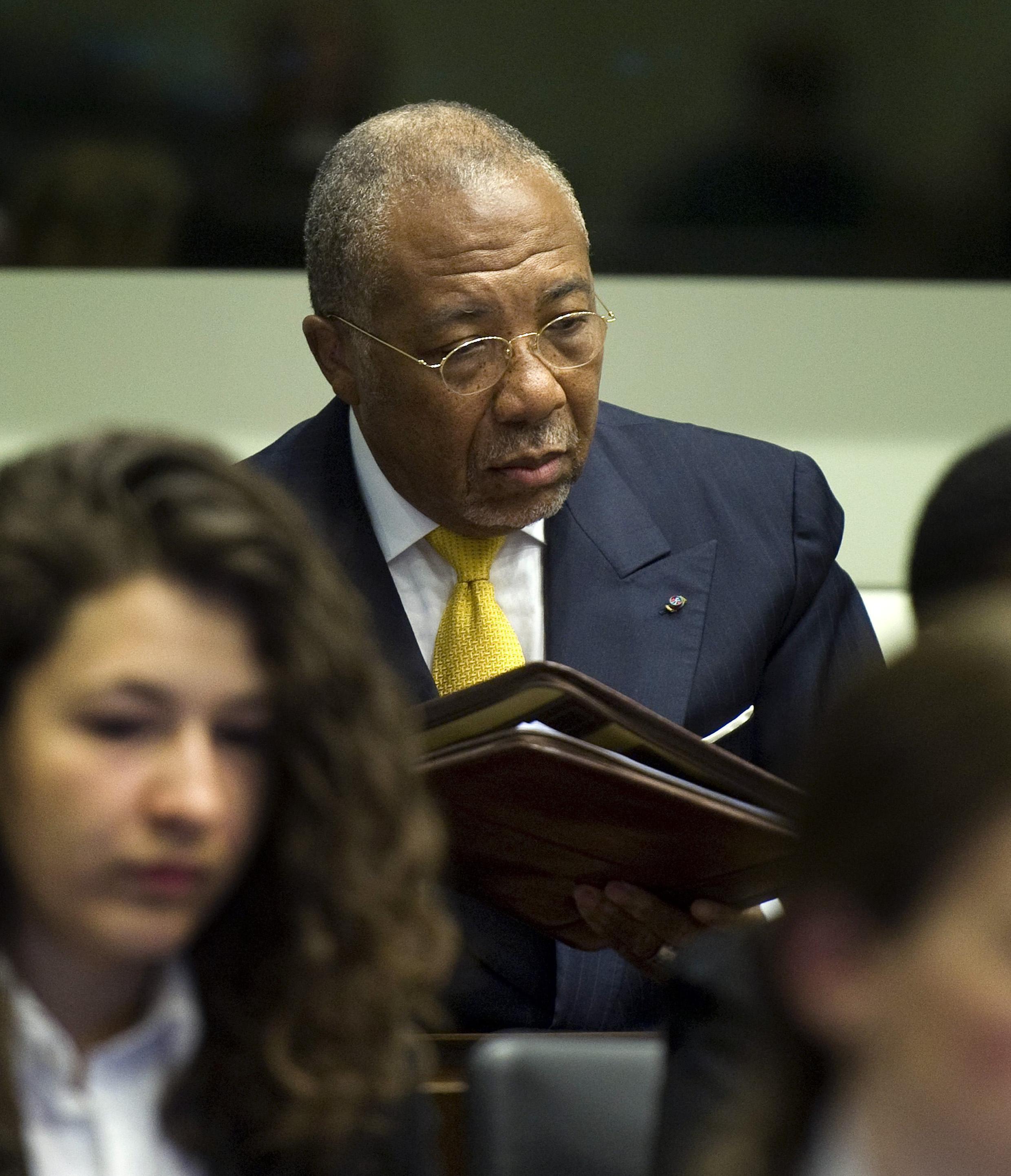 Rais wa zamani wa Liberia Charles Taylor ambaye amehukumiwa kifungo cha miaka 50 kwa makosa ya uhalifu wa kivita aliyoyatenda nchini Sierra Leone