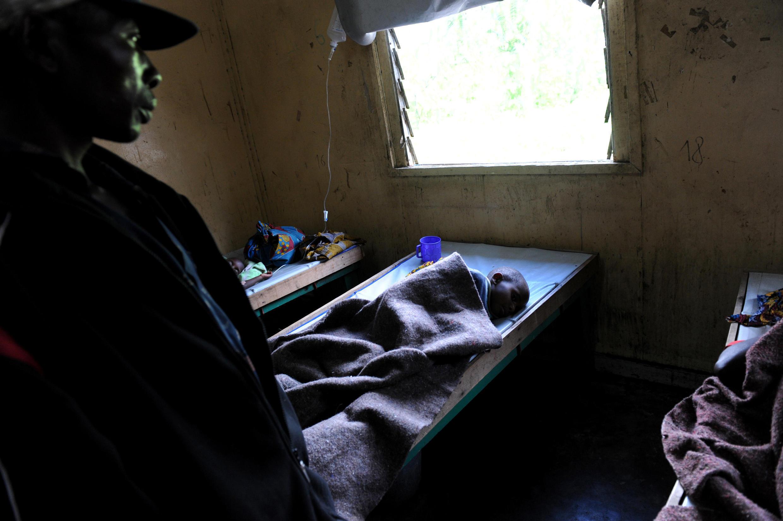 Victime du Choléra au Nord-Kivu, en RDC.