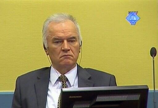 Kiongozi wa zamani wa majeshi ya Serbia, Ratco Mladic