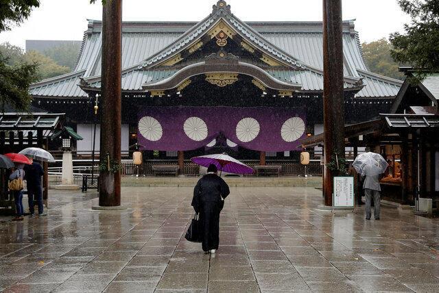 位於東京的靖國神社,2016年10月19號