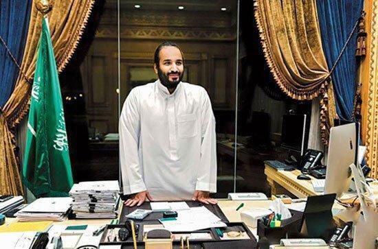 محمدبن سلمان، پسر پادشاه عربستان و وزیر دفاع این کشور-تصویر آرشیوی