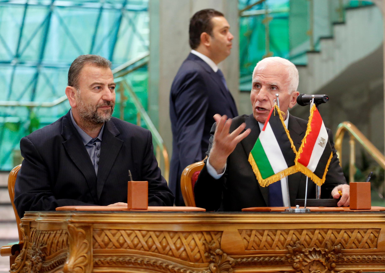 هیئتهای نمایندگی فتح و حماس در قاهره