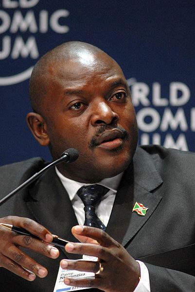 Pierre Nkurunziza, président du Burundi réélu le 30 juin 2010