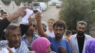 Des réfugiés syriens au Liban.