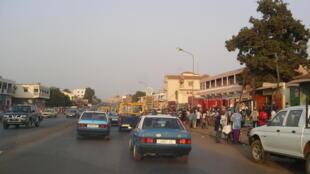 Cidade de Bissau, a capital da Guiné-Bissau