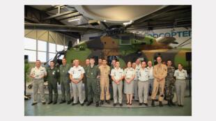 L'objectif est de lancer la formation des futurs équipages et mécaniciens qui devront travailler sur l'hélicoptère «Caïman», cet appareil ultra-moderne.