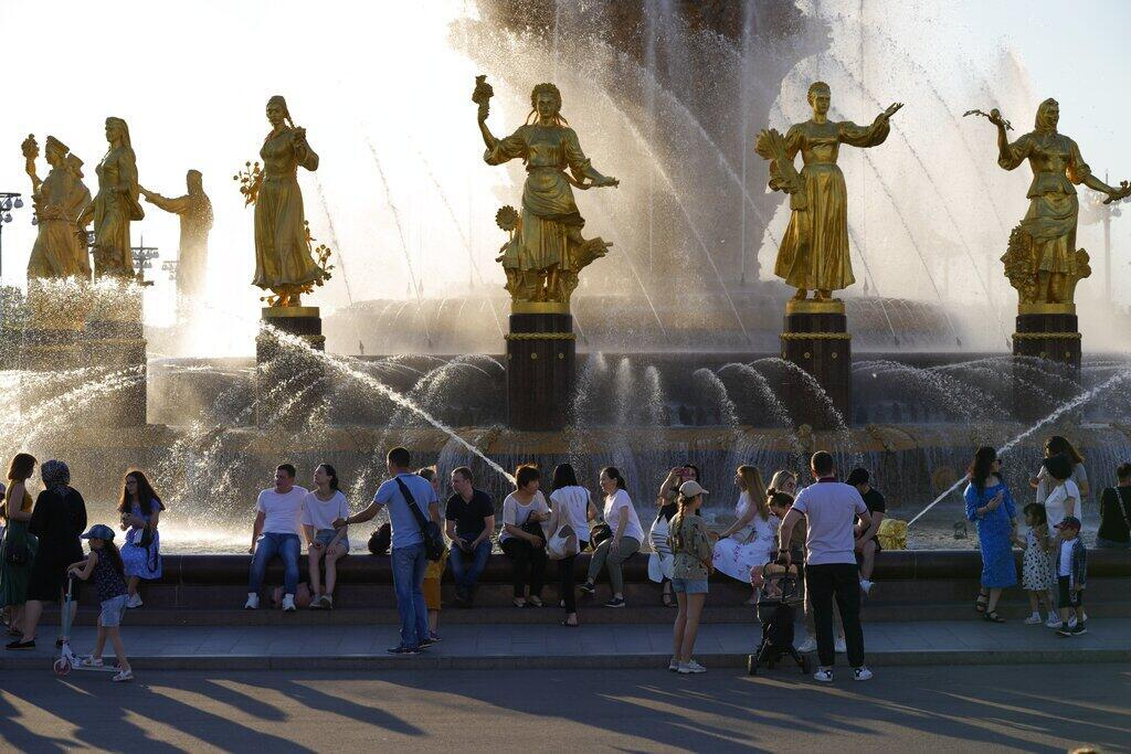 Image RFI Archive - Moscou - Canicule 2021