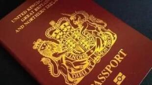 网传BNO护照图片
