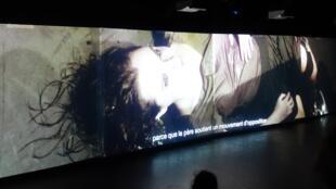 """""""A Floresta que Anda"""", peça de Christiane Jatahy, em cartaz em Paris."""