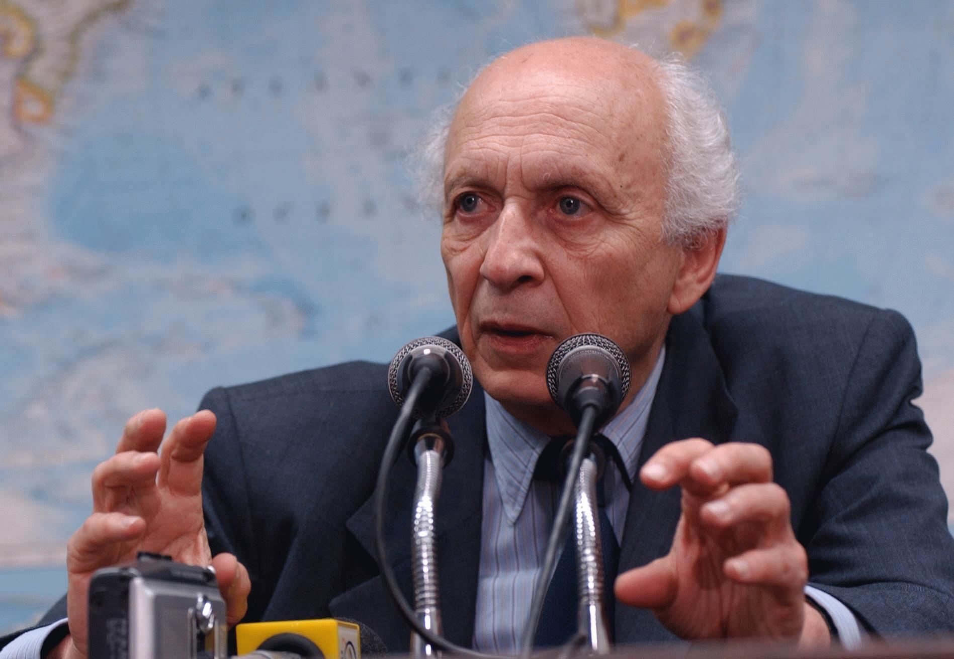 Rubens Ricupero, ex-ministro e embaixador que lançou recentemente um livro sobre a diplomacia no Brasil.