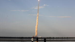 India's GSLV carrying Mk III communication satellite blasts off from the Satish Dhawan Space Centre at Sriharikota