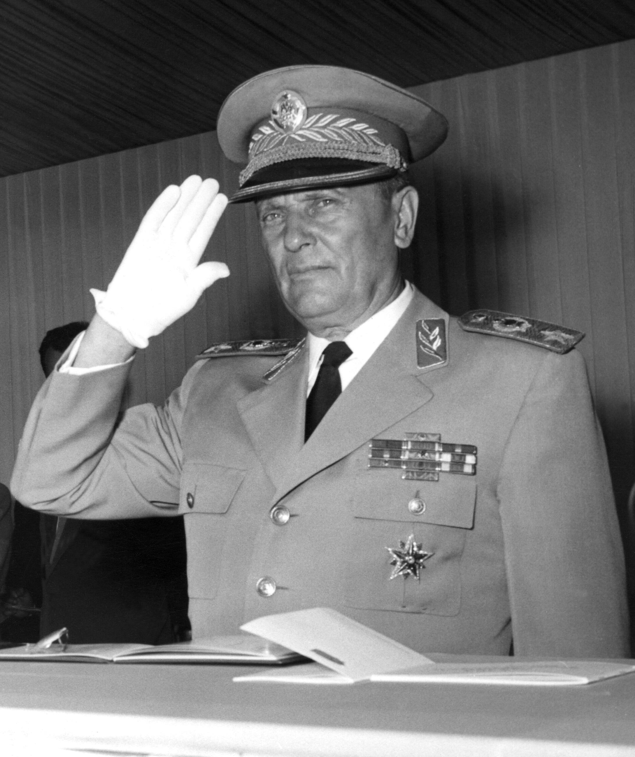 Le maréchal Tito en 1953.