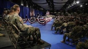 Discours du président Trump sur l'Afghanistan. Fort Myer, le 21 août 2017.