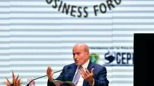 Issad Rebrab, ici en 2017, est considéré comme l'homme le plus riche d'Algérie est en prison...